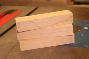 make your own dovetail saw guide blocks