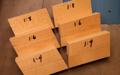How To Make Dovetail Saw Guide Blocks
