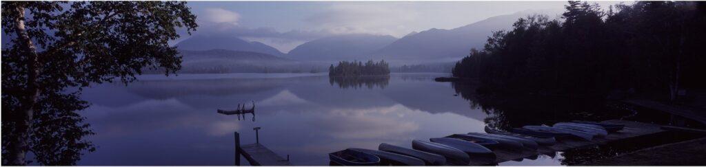 Elk Lake view
