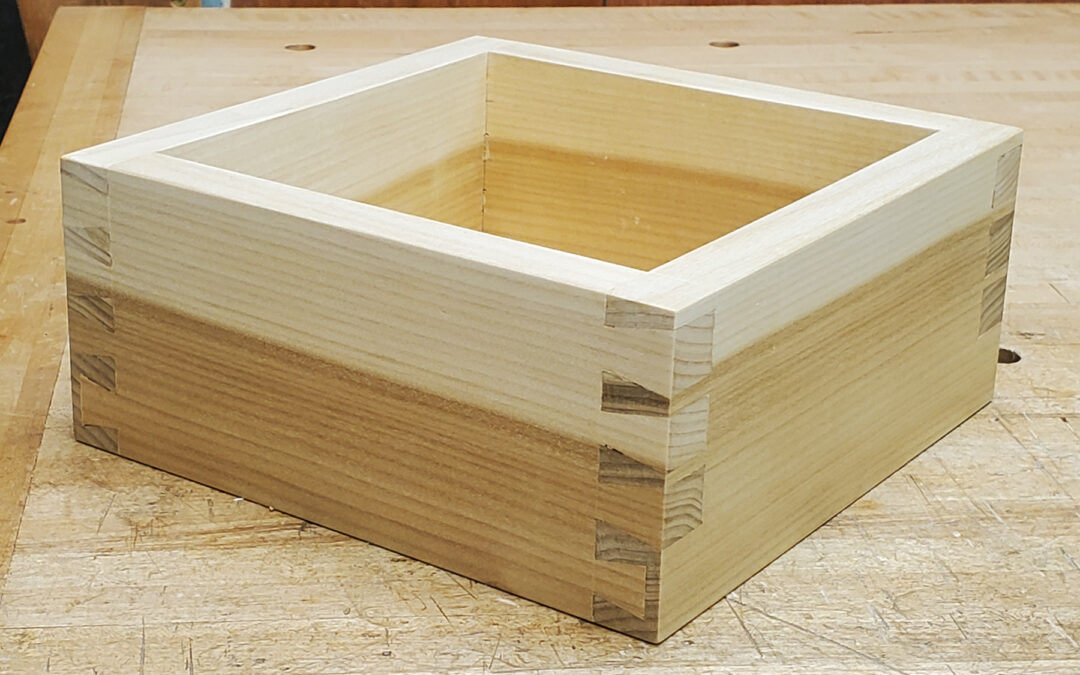 How To Layout A Dovetail Box